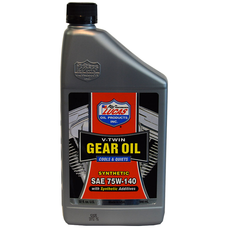 LUCAS SYNTHETIC SAE 75W-140 GEAR OIL [10791] - $15 75 : R&R